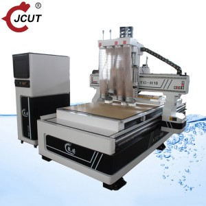 Factory source Cnc Router Auto Tool Changer - 1325 four spindle with linear ATC – JCUT