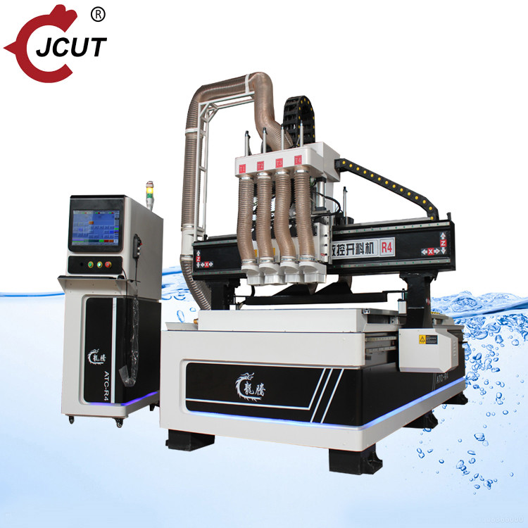 Fast delivery Atc Funiture - New design four spindle ATC wood cnc router – JCUT