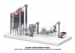 Juda Calcium hydroxide production line (with slag discharge system)–EPC Project