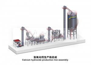 Juda Calcium hydroxide production line (without slag discharge system)–EPC Project