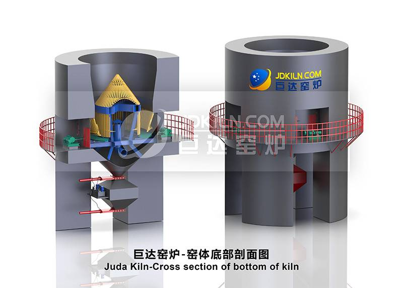Juda Kiln-Cross section of bottom of kiln Featured Image
