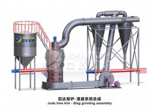 Professional China Calcium Hydroxide Production Line Equipment - Juda slag grinding system – Juda