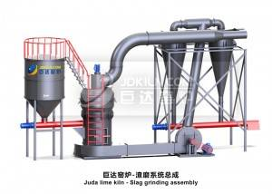 Wholesale Price China Calcium Hydroxide Sources - Juda slag grinding system – Juda