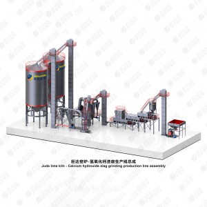 Hot New Products Making Calcium Hydroxide - Juda Calcium hydroxide production line (with slag discharge system)–EPC Project – Juda