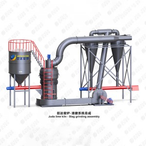 Factory Cheap Hot Calcium Hydroxide To Calcium Carbonate - Juda slag grinding system – Juda