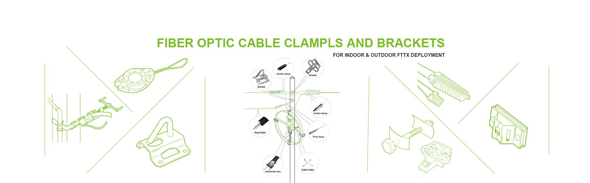 FTTH fiber optic accessories