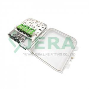 Wholesale Price Optical Termination Box - Fiber optic distribution box, FODB-8A – JERA