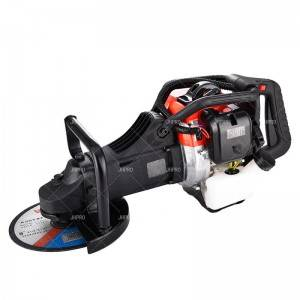 JHPRO JH-230A EPA approved New Portable Gasoline Angle Grinder for Metal Stone Cutting and Grinding