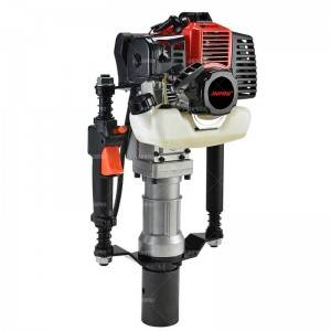JHPRO JH-68 Post Pile Driver 32.6CC 2 Stroke Gas Powered T Post Driver Piledriver