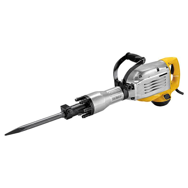 JHPRO JH-86 Electric Demolition Jack Hammer Concrete Breaker Drill Chisel  Featured Image