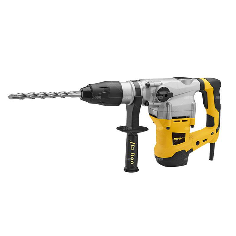 Europe style for 2 Inch Rotary Hammer Drill – JHPRO JH-40 high quality Heavy Duty 40mm 1500w Rotary Hammer Electric Hammer Drill – Jiahao
