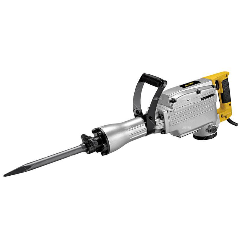 JHPRO JH-65 high quality Heavy Duty 65mm 1520W/1700W Heavy Duty Electric Demolition Jack Hammer