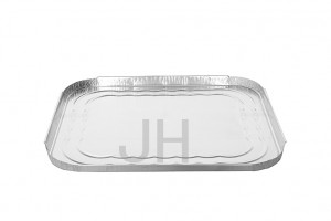 Fast delivery Aluminum Foil Disposable Food Containers - Rectangular container REL5550R – Jiahua