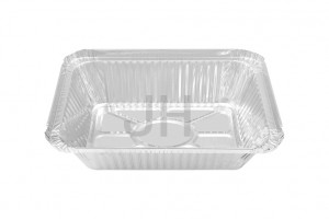 Personlized Products Foil Container With Clear Lid - 2 14 Lb. Oblong Foil Container RE1080 – Jiahua