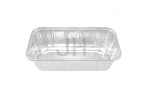 OEM Manufacturer Muffin Pan Aluminum - 2Lb loaf pan Foil Container RE1040R – Jiahua