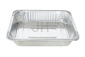 Online Exporter Heavy Duty Aluminum Foil Sheets - Rectangular container RE5200R – Jiahua