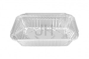 18 Years Factory Aluminum Party Trays - Rectangular container RE1330 – Jiahua
