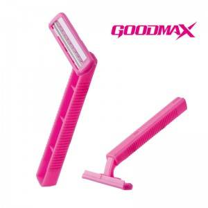 Super Quality Safety Twin Blade Fixed Head Disposable Razor With Private Label  SL-3007L