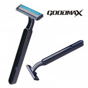 High Performance Customized Wholesale Twin Blade One Time Men Shaving Razor SL-3017