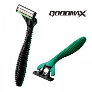 Goodmax Triple Blade disposable home use face men triple blade safe razor SL-3104TL