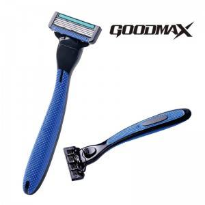 4 Blade Sweden Stainless Steel Washable Open Back System Razor  model SL – 8103