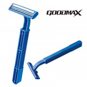 Factory Direct Sale Blue Color Men Shaving Twin Blade Disposable Razor SL-3025