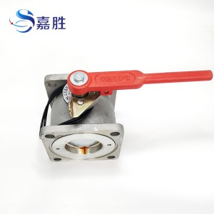 Square Flange Ball Valve