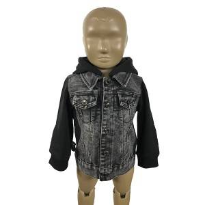 Online Exporter Cute Baby Outfits - Snowflake washes your denim jacket – JiaTian