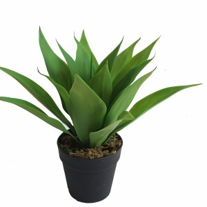 Real touch artificial agave plant high quality