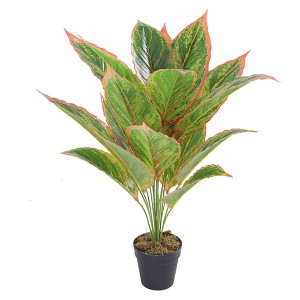 Hot selling artificial taro plants for indoor decoration