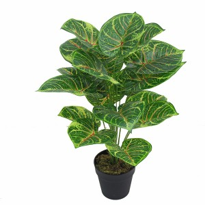 Hot selling artificial taro plants