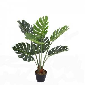 artificial monstera plants new design hot selling