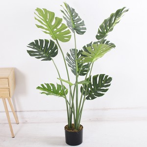 4ft artificial monstera plants new design hot selling 120cm