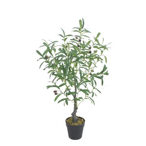 Artificial olive tree artificial bonsai plant