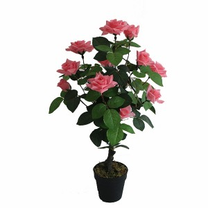 Wholesale artificial rose plant wedding decoration