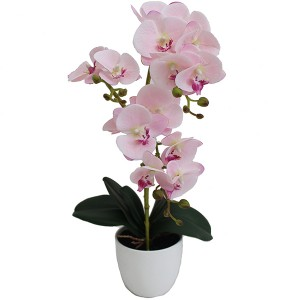 artificial orchid bonsai plant 50cm