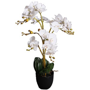 artificial orchid plants flower bonsai 70cm