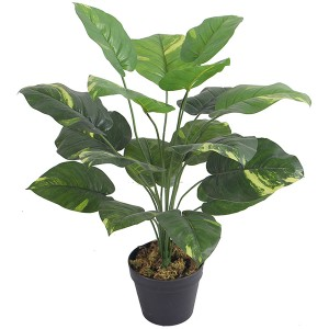 small bonsai artificial taro plants hot selling