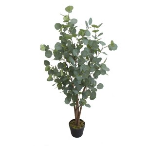 New Style High Simulation Artificial Eucalyptus Trees and Plants for Wholesale Decoration