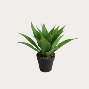 Factory direct sale indoor decoration lifelike mini artificial large aspidistra tree artificial plant