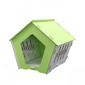 China Cheap price Cat Wooden House - MDF cat  House SCT-23 – Jie Feng
