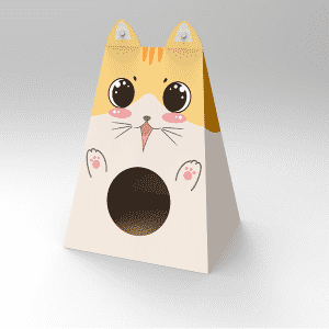 Low price for Cat House Cardboard Diy - cardboard cat house – Jie Feng