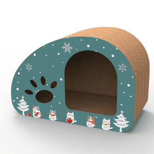 Factory wholesale Homemade Cat House - cardboard cat house – Jie Feng