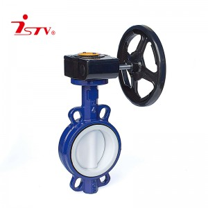 OEM/ODM Supplier China Industrial Lever Handle Carbon Steel PTFE Seated Wafer Butterfly Valve