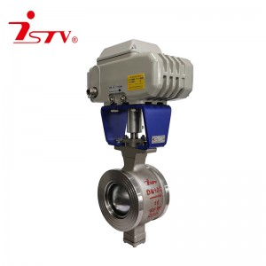 Electric V-Shaped Control Ball Valve