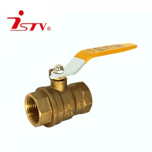 Fast delivery Fully Welded Ball Valve - Two-pieces brass ball valve – Jiest