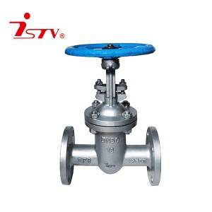High reputation China ANSI 150lb Flanged Carbon Steel Wcb Gate Valve