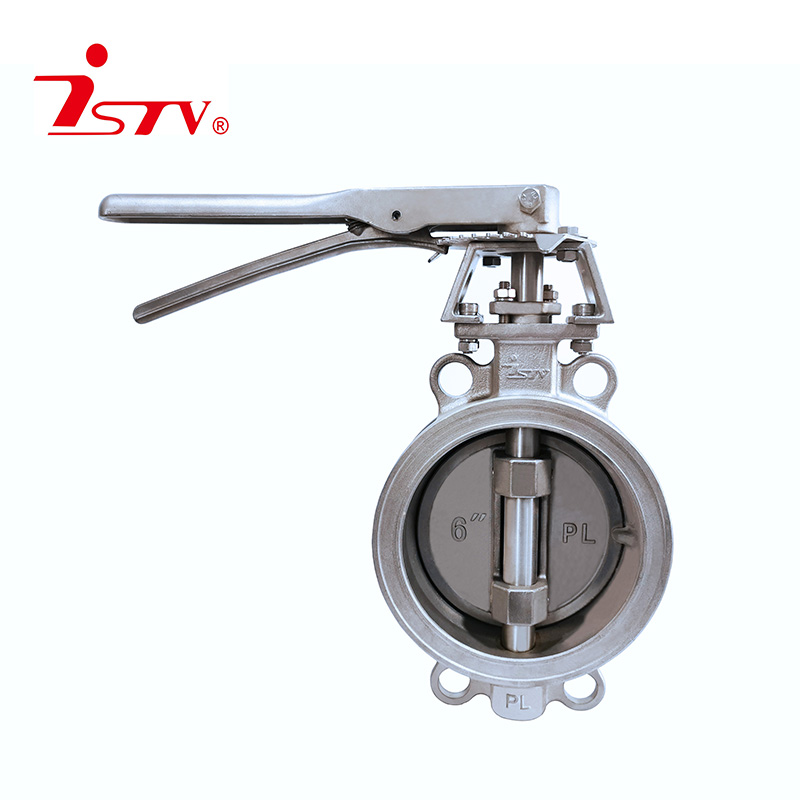 Double-eccentric butterfly valve