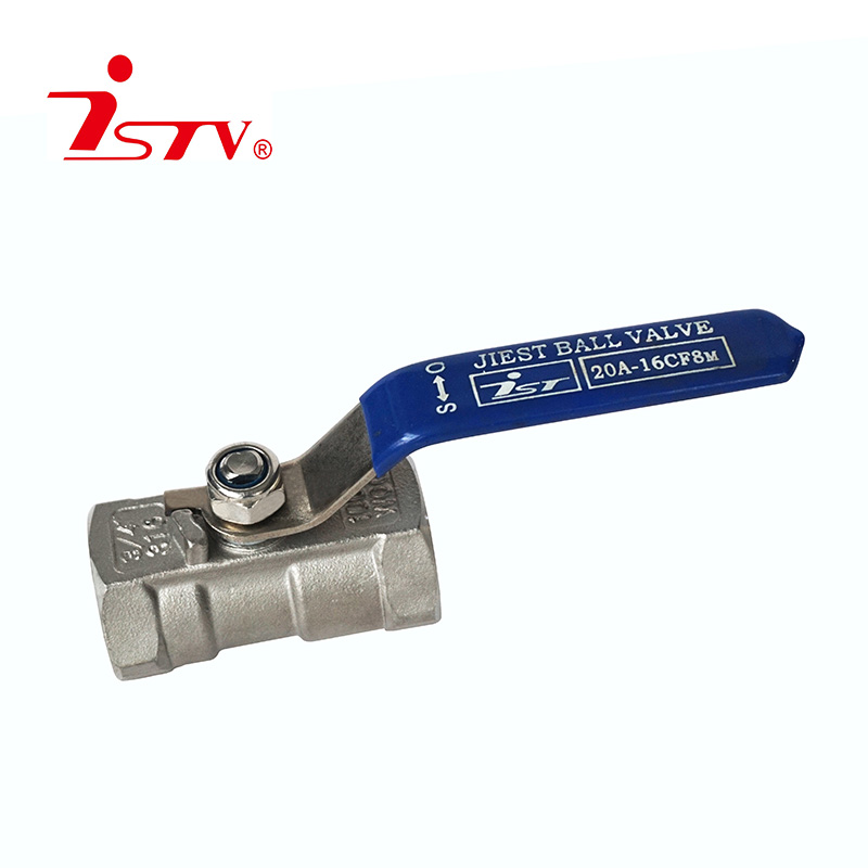 One-piece floating ball valve