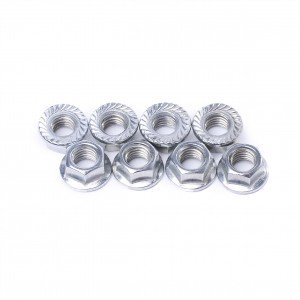 Discount wholesale Hex Bolt And Nuts - Flange nut – Jiuhe Hengye